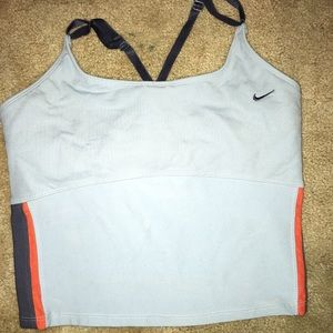 GUC Nike sports athletic yoga top built in bra S